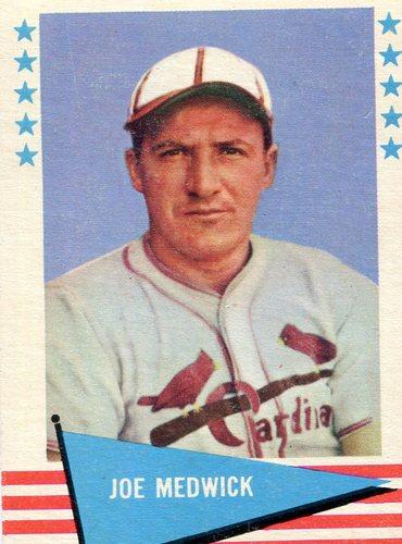Photo of 1961 Fleer #61 Joe Medwick