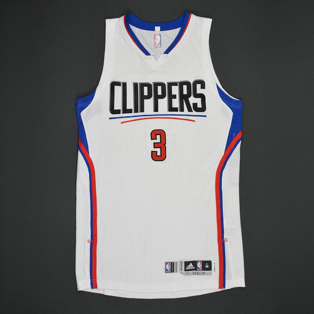 Chris Paul - Los Angeles Clippers - Game-Worn Regular Season Jersey (Double-Double) - 2016-17 Season