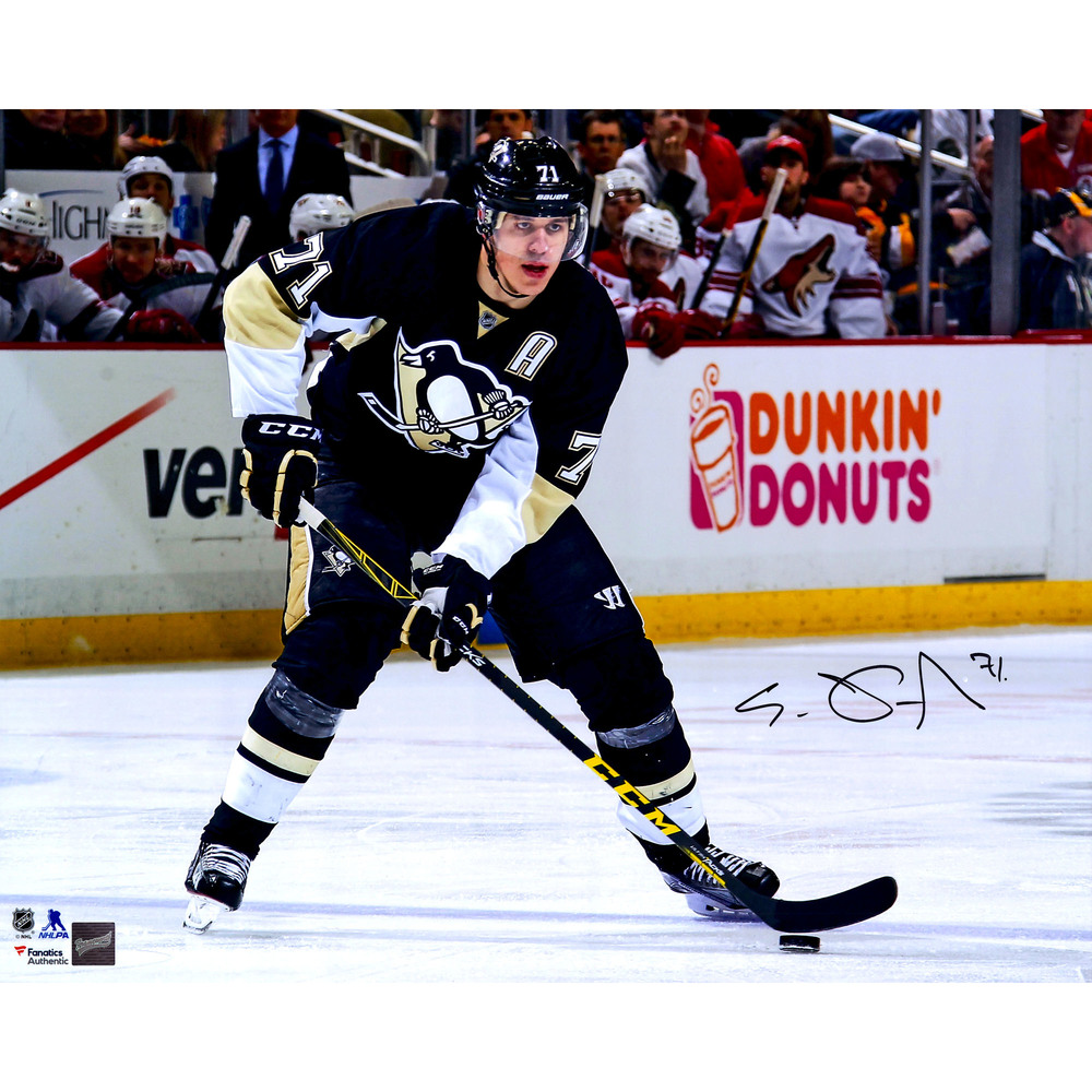 Evgeni Malkin Pittsburgh Penguins Autographed 16