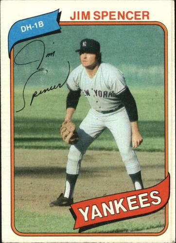 Photo of 1980 Topps #278 Jim Spencer