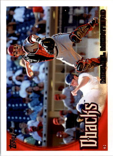 Photo of 2010 Topps #381 Miguel Montero
