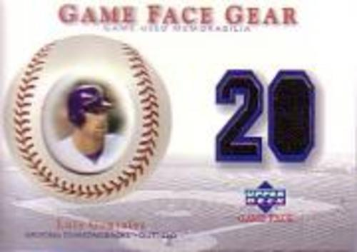 Photo of 2003 Upper Deck Game Face Gear #LG2 Luis Gonzalez Away