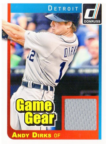 Photo of 2014 Donruss Game Gear #11 Andy Dirks
