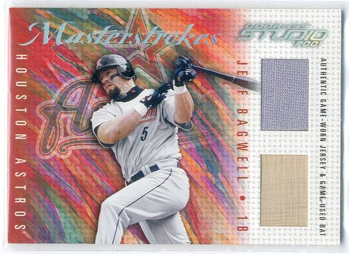 Photo of 2001 Studio Masterstrokes #MS18 Jeff Bagwell