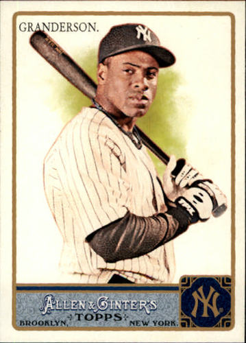 Photo of 2011 Topps Allen and Ginter #33 Curtis Granderson