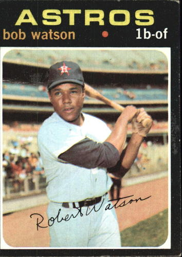 Photo of 1971 Topps #222 Bob Watson
