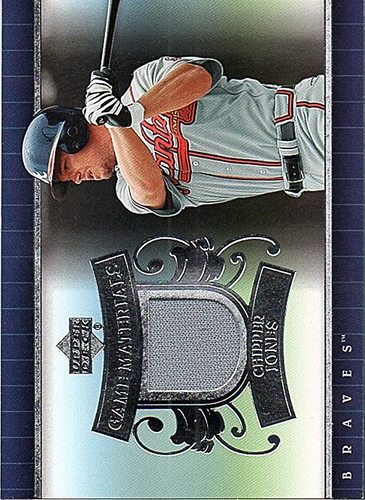 Photo of 2007 Upper Deck UD Game Materials #CJ Chipper Jones Jersey