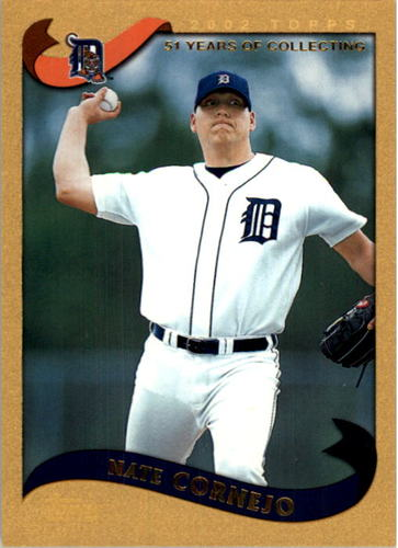 Photo of 2002 Topps Gold #586 Nate Cornejo