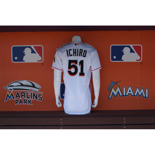 Photo of Ichiro Suzuki Jersey - 2 Hits - Vs. Braves 6/21/16