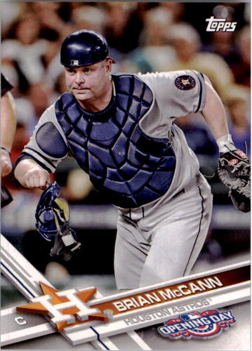 Photo of 2017 Topps Opening Day #161 Brian McCann