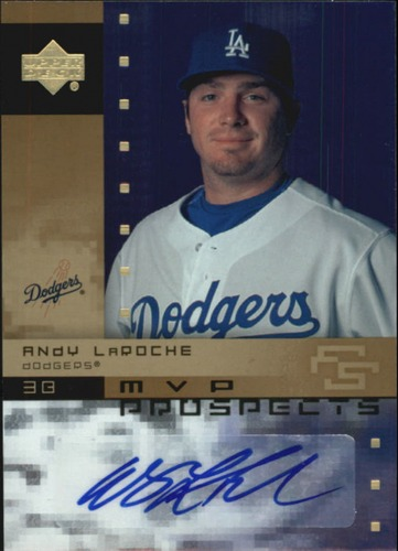 Photo of 2007 Upper Deck Future Stars MVP Futures Signatures #LA Andy LaRoche AUTO