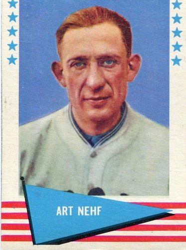 Photo of 1961 Fleer #65 Art Nehf
