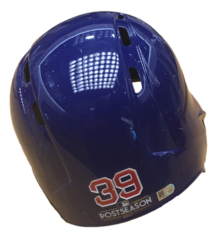Photo of Jen-Ho Tseng 2017 Postseason Batting Helmet