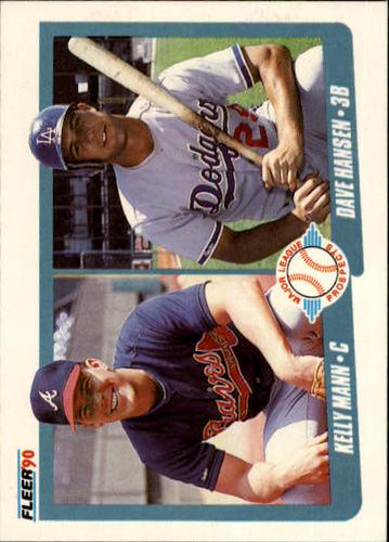Photo of 1990 Fleer #642 Kelly Mann RC/Dave Hansen RC