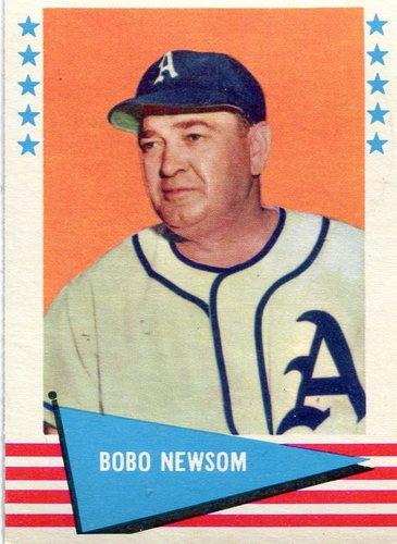 Photo of 1961 Fleer #67 Bobo Newsom