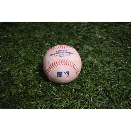 Photo of Game-Used Baseball: Daniel Robertson Triple off Zach Neal