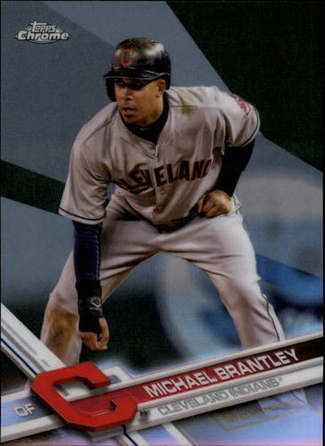 Photo of 2017 Topps Chrome Refractors #165 Michael Brantley