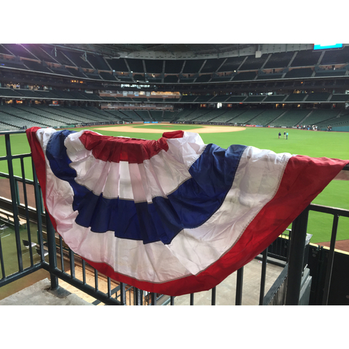 Photo of 2017 World Series Bunting From Minute Maid Park