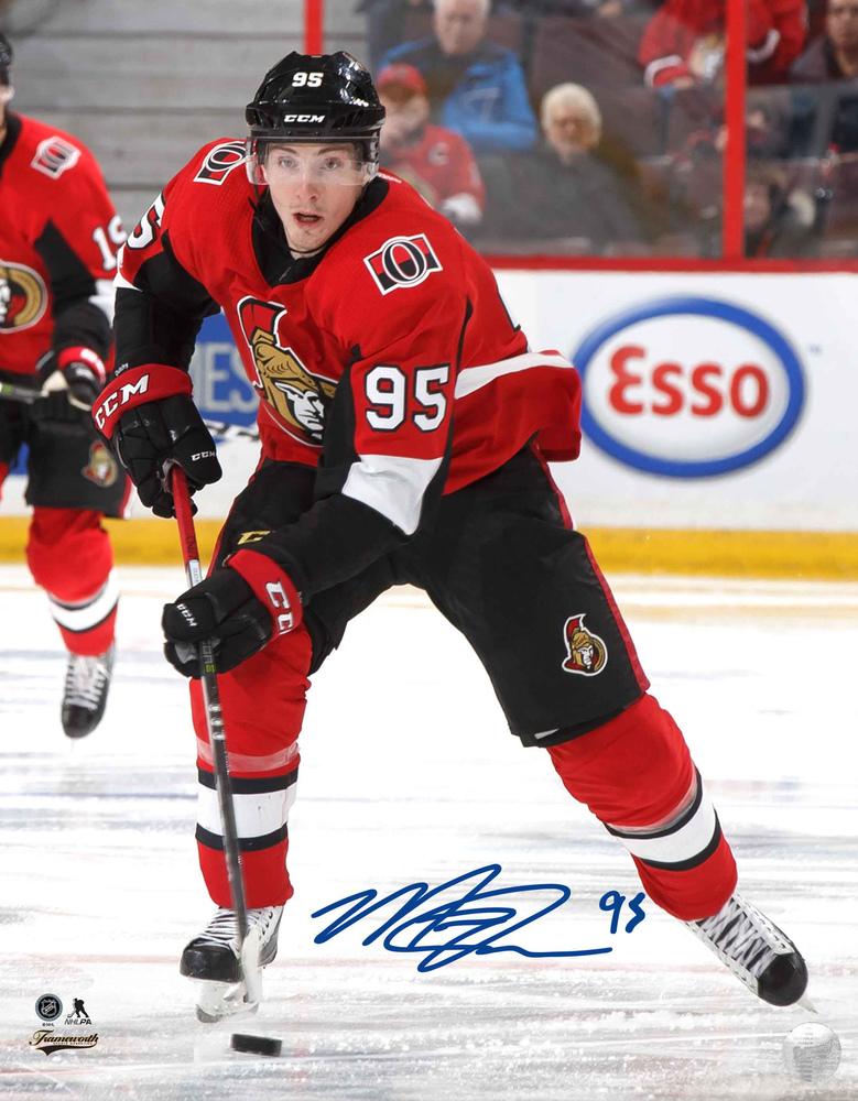 Matt Duchene - Signed 8X10 Photo Senators Red Action