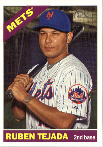 Photo of 2015 Topps Heritage #512 Ruben Tejada