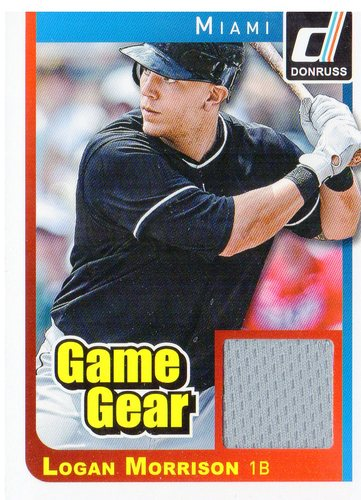 Photo of 2014 Donruss Game Gear #13 Logan Morrison