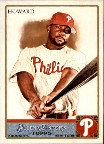Photo of 2011 Topps Allen and Ginter #65 Ryan Howard