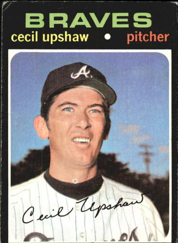 Photo of 1971 Topps #223 Cecil Upshaw