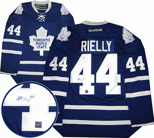 Morgan Rielly - Signed Toronto Maple Leafs Dark Jersey