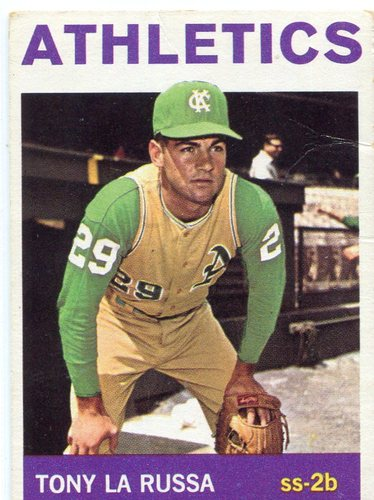 Photo of 1964 Topps #244 Tony LaRussa Rookie Card