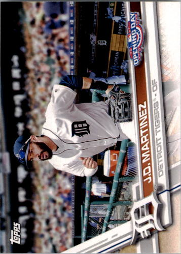 Photo of 2017 Topps Opening Day #172 J.D. Martinez