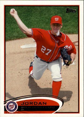 Photo of 2012 Topps #75 Jordan Zimmermann