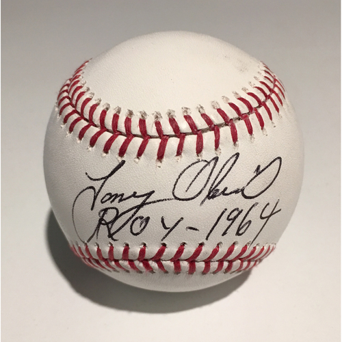 """Photo of Ed Randall's Fans For the Cure Auction: Tony Oliva Autographed Inscribed """"ROY 1964"""" Official 2016 Spring Training Baseball"""