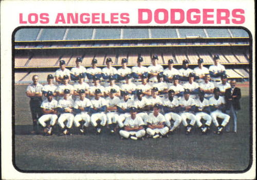 Photo of 1973 Topps #91 Los Angeles Dodgers TC