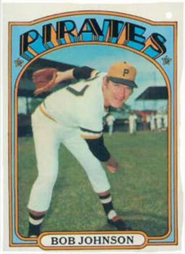 Photo of 1972 Topps #27 Bob Johnson