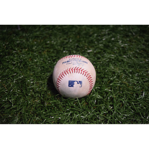 Photo of Game-Used Baseball: Willy Garcia Double off Jake Odorizzi