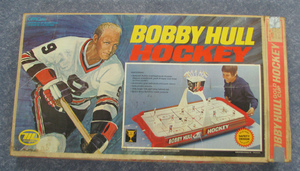 BOBBY HULL Hockey Gold Cup Series Vintage Table Top Hockey Game
