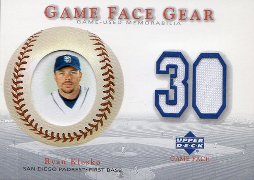 Photo of 2003 Upper Deck Game Face Gear #RK Ryan Klesko