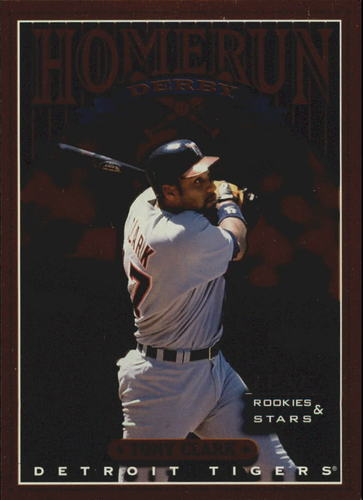 Photo of 1998 Leaf Rookies and Stars Home Run Derby #4 Tony Clark