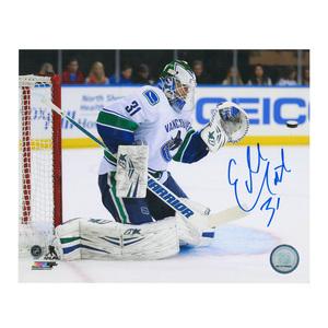 EDDIE LACK Signed Vancouver Canucks 8 X 10 Photo - 70093