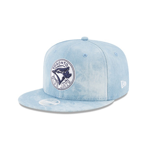 Women's Denim Chic Snapback Cap Light Blue by New Era
