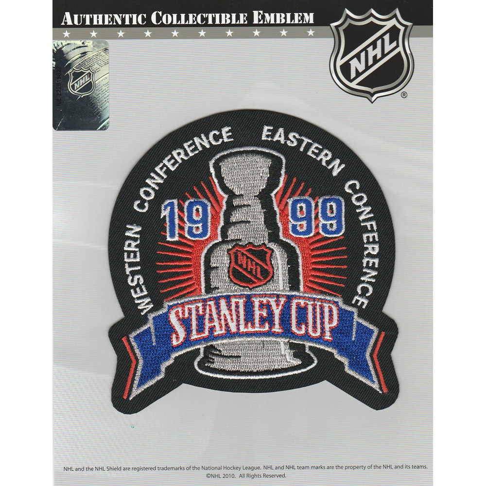 1999 NHL Stanley Cup Final Jersey Patch (Dallas Stars vs. Buffalo Sabres)