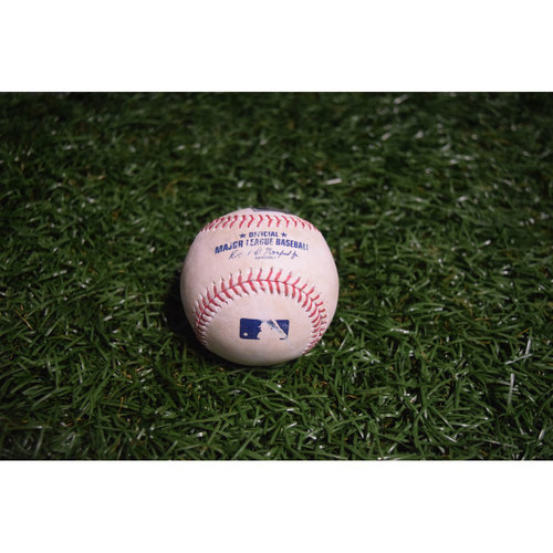 Photo of Game-Used Baseball: Todd Frazier Single off Jake Odorizzi