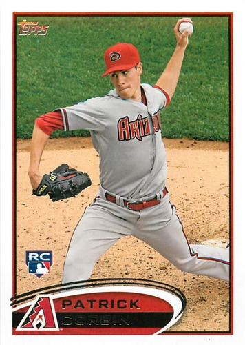 Photo of 2012 Topps Update #US16 Patrick Corbin Rookie Card -- D'backs post-season