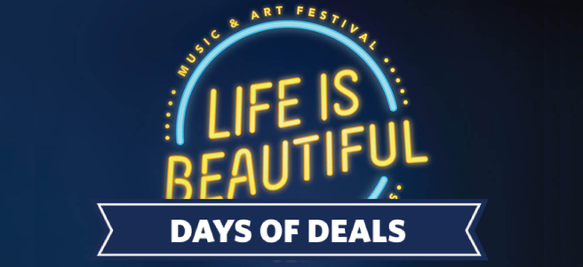 LIFE IS BEAUTIFUL MUSIC FESTIVAL IN LAS VEGAS - PACKAGE 3 of 4