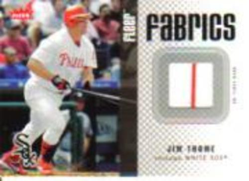 Photo of 2006 Fleer Fabrics #JT Jim Thome Jsy