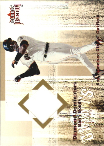 Photo of 2001 Fleer Premium Diamond Dominators Game Jersey #DD4 Barry Bonds