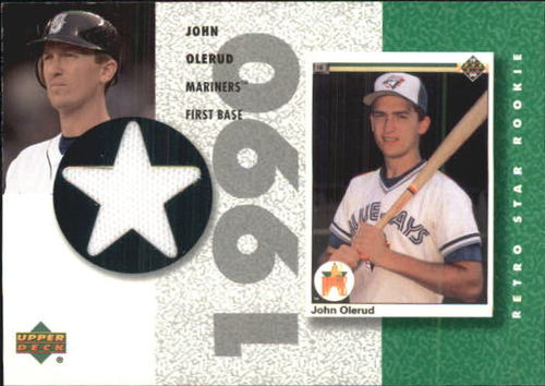 Photo of 2002 UD Authentics Retro Star Rookie Jerseys #SRJO John Olerud