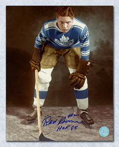 Red Horner Toronto Maple Leafs Autographed 8x10 Photo
