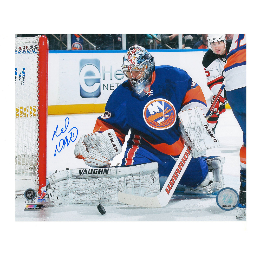 RICK DIPIETRO Signed New York Islanders 8 X 10 Photo - 70111