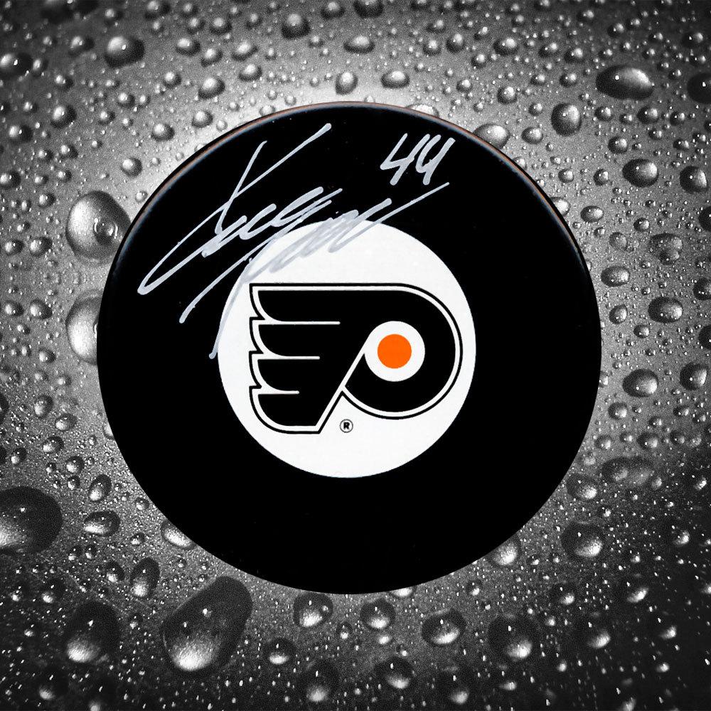 Kimmo Timonen Philadelphia Flyers Autographed Puck LAST ONE